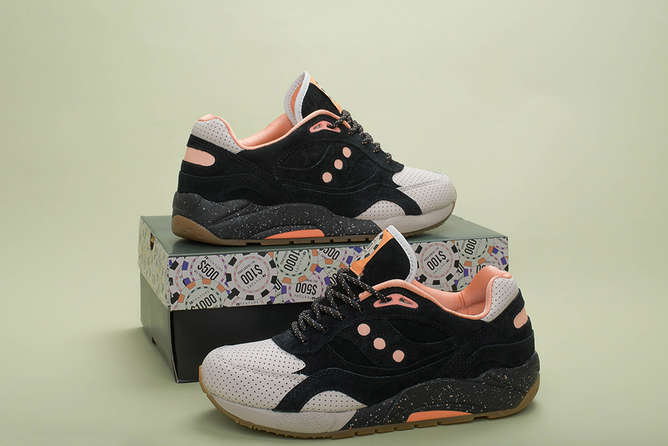 Saucony x Feature G9 Shadow 6 High Roller