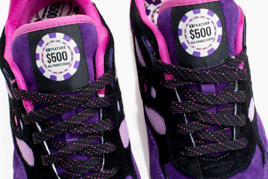 Saucony x Feature LV G9 Control The Barney