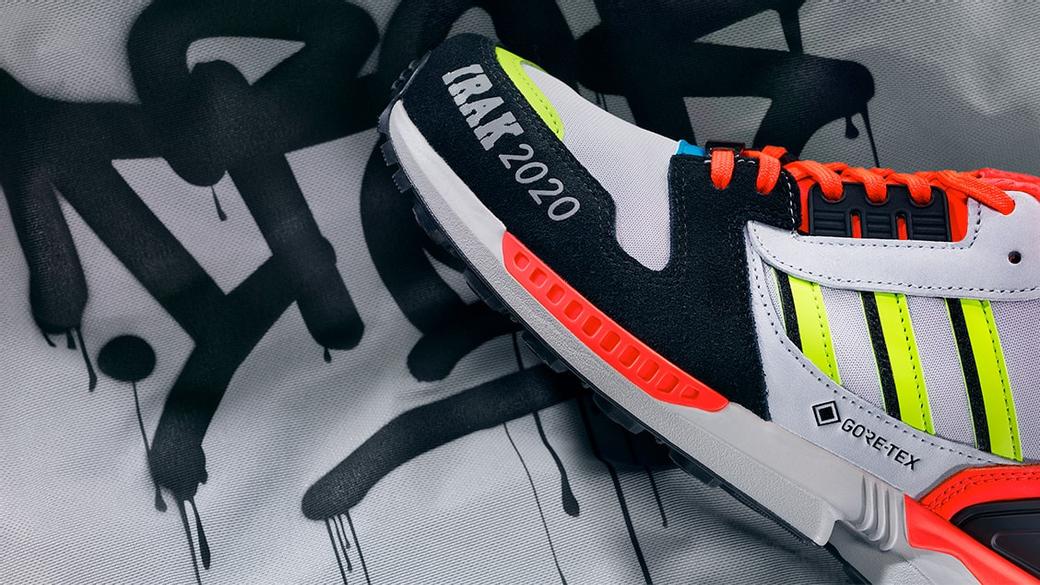 adidas ZX 8000 GTX IRAK: ремейк нулевых
