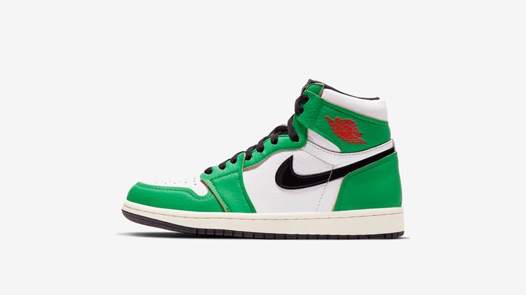 Air Jordan 1 High OG Lucky Green WMNS