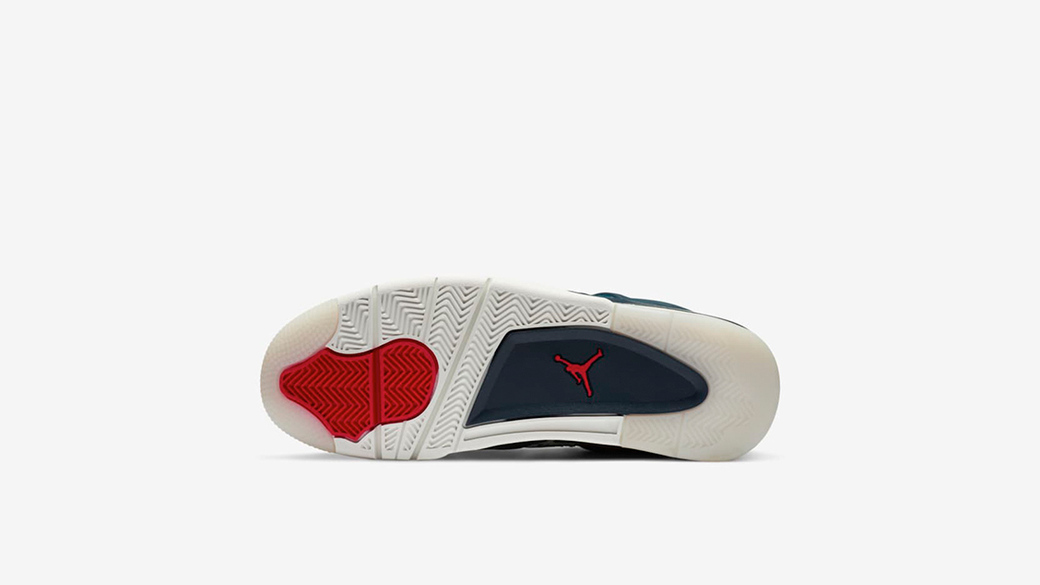 Air Jordan 4 Sashiko Deep Ocean: японское мастерство