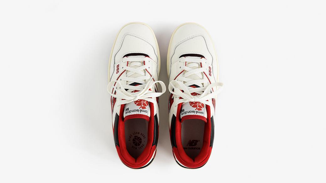 New Balance × Aimé Leon Dore P550: баскетбол прошлого