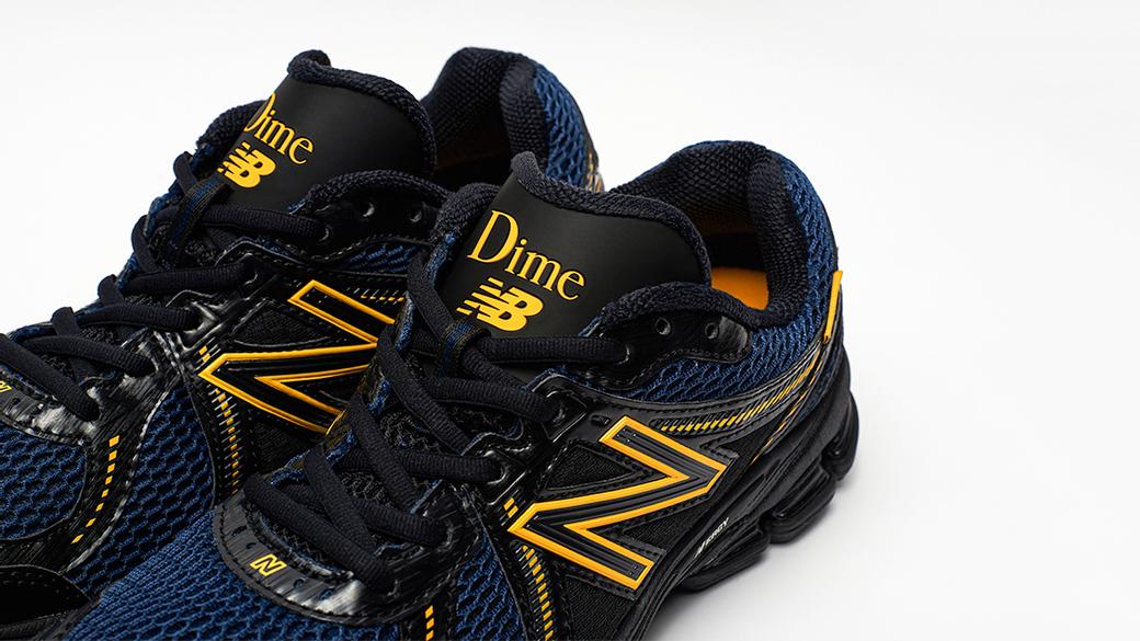New Balance × Dime 860v2: повседневный комфорт