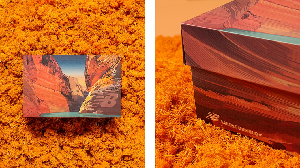 New Balance × Salehe Bembury: из Нью-Йорка в Лос-Анджелес