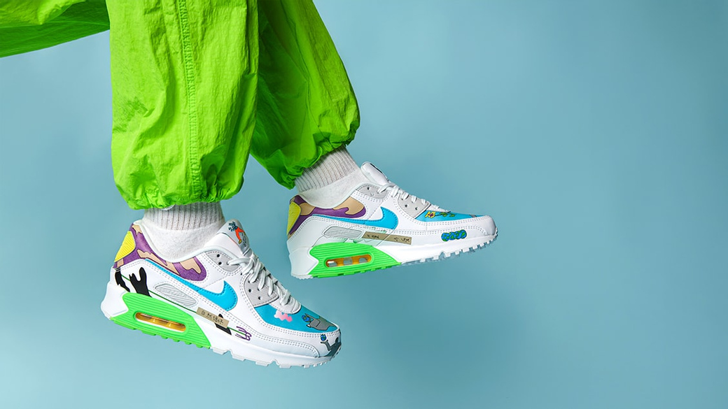 Nike × Ruohan Wang Air Max 90: день Земли