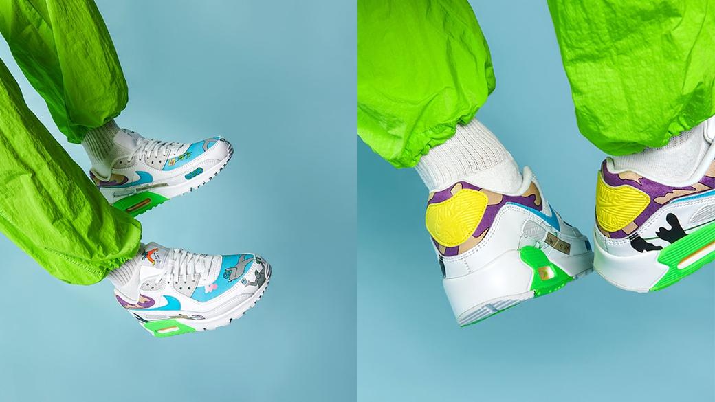 Nike × Ruohan Wang Air Max 90: день Земли