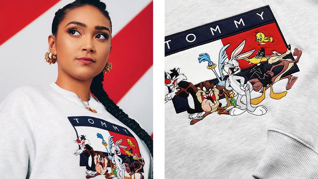 Tommy Jeans × Looney Tunes: к юбилею мультсериала