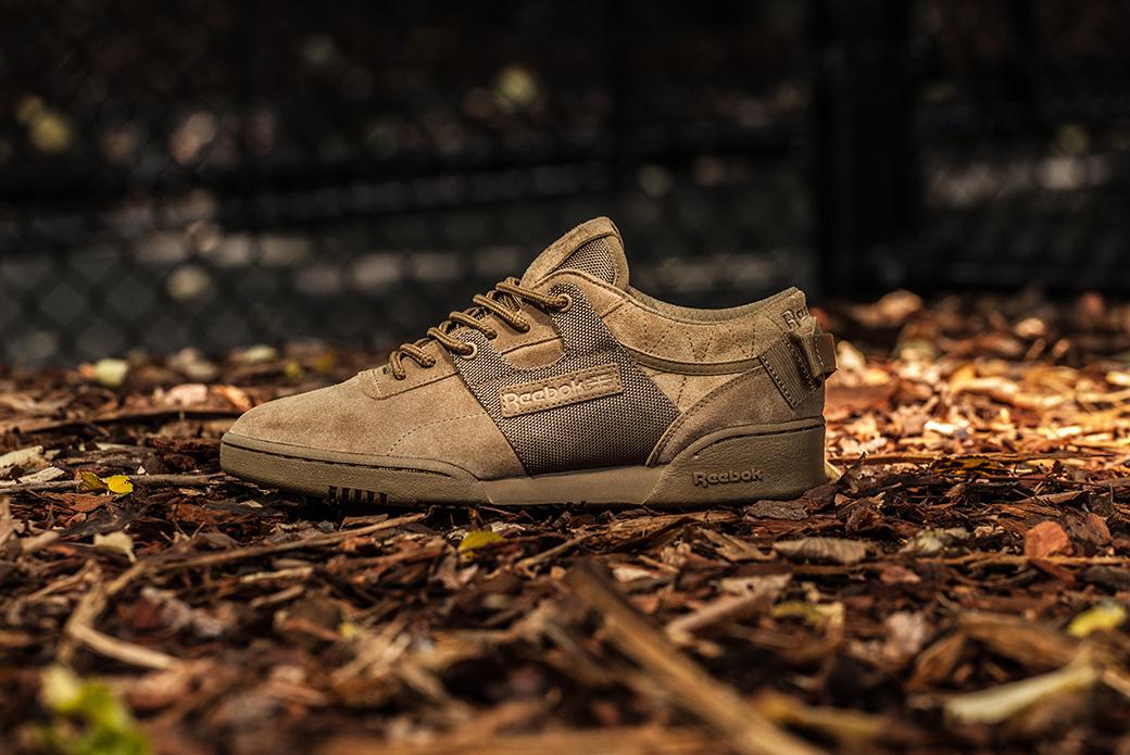 Reebok × mita sneakers: милитари-тренировка