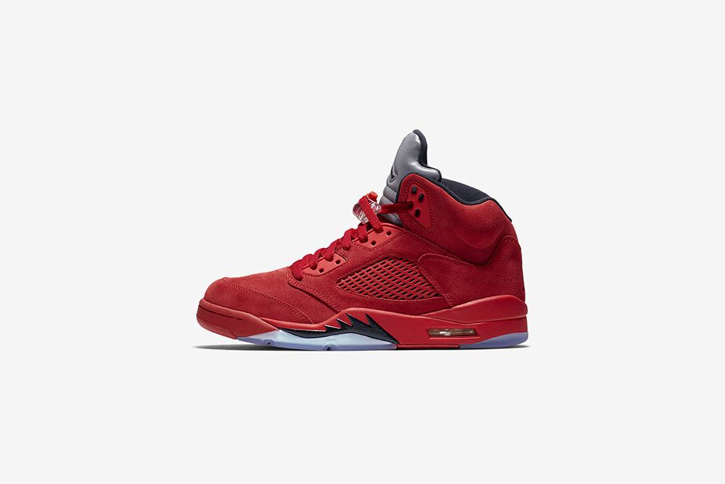 Air Jordan 5 Red Suede: реинкарнация красного быка