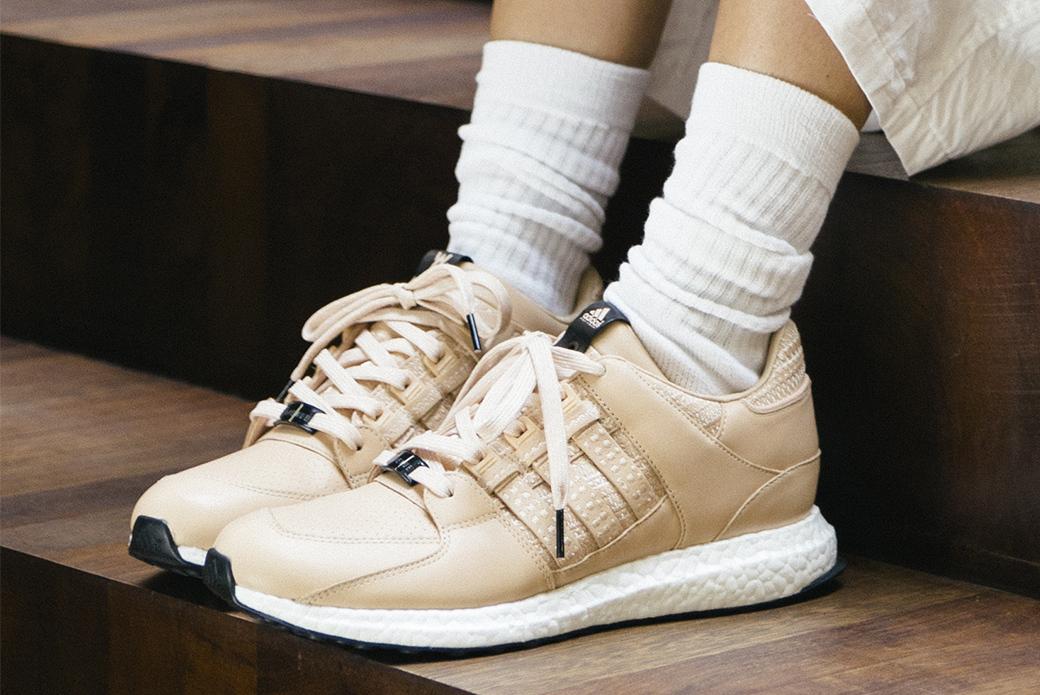 adidas Consortium × Avenue EQT 93/16 Support: скандинавская вышивка