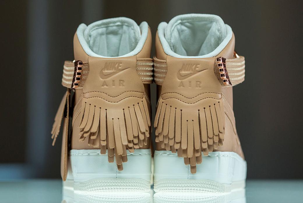 Nike Air Force 1 High SL: роскошь на пределе