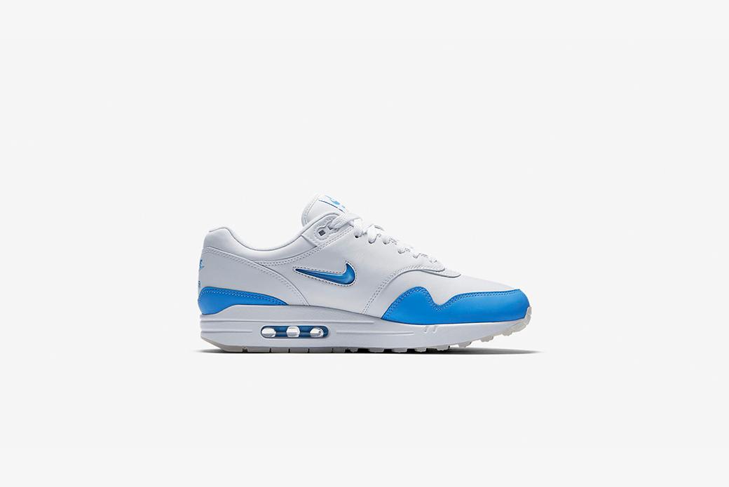 Nike Air Max 1 Premium SC University Blue: изящный синий
