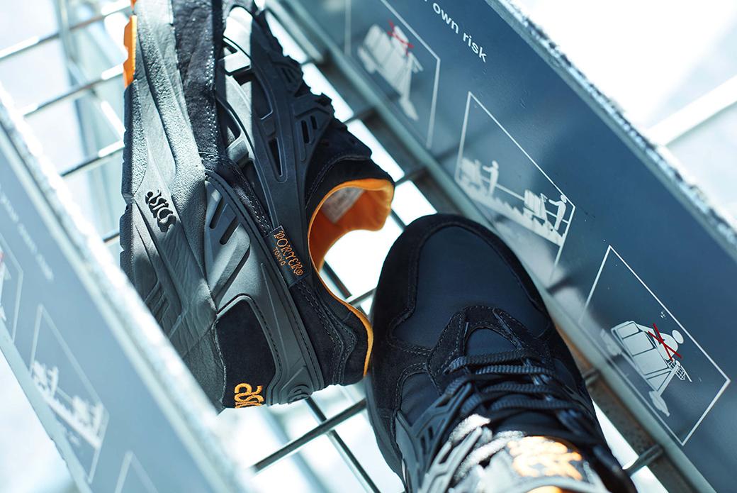 ASICS × PORTER GEL-Kayano Trainer: от сумок к кроссовкам