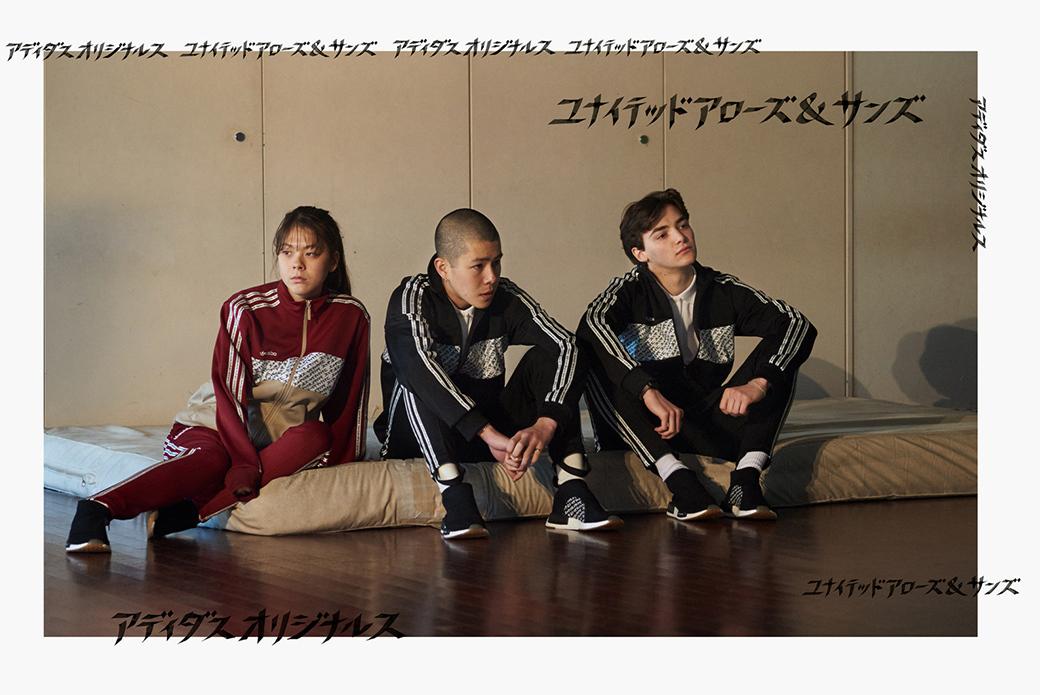 adidas Consortium × United Arrows & Sons: искусство каллиграфии