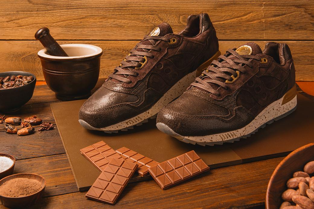 Saucony Shadow 5000 Chocolate Pack: молочный и горький