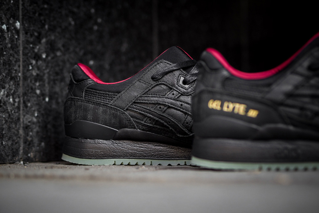 ASICS GEL-Lyte III Lacquer Pack: знакомая расцветка