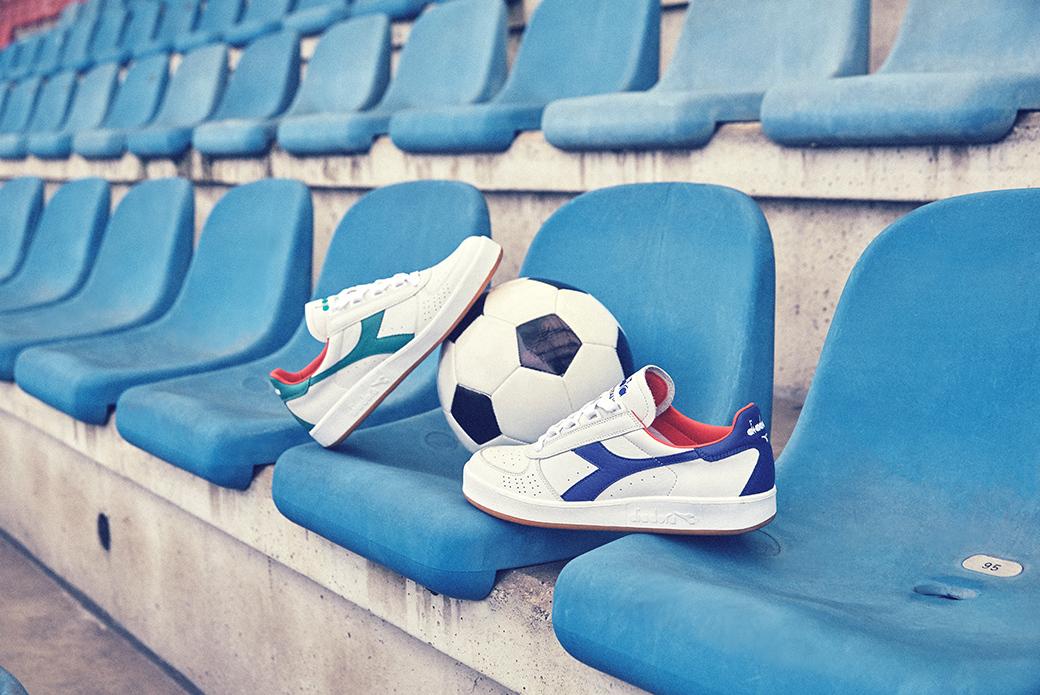 Diadora B. Elite Italia Azzurri 80 Pack: футбол и теннис