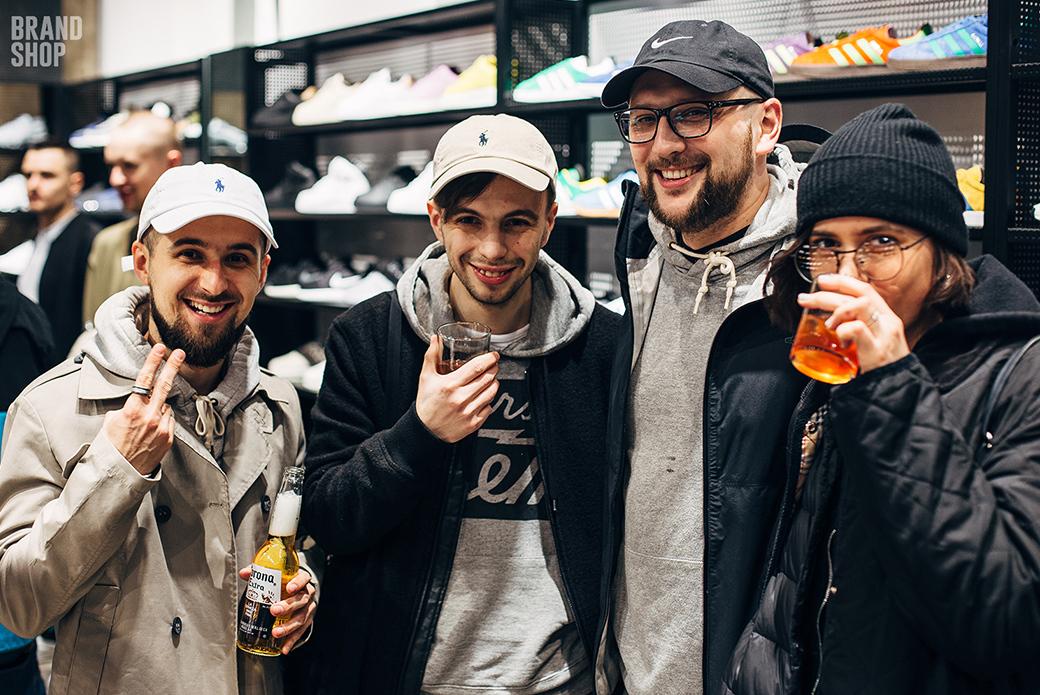 Как это было: вечеринка BRANDSHOP Sneaker Store