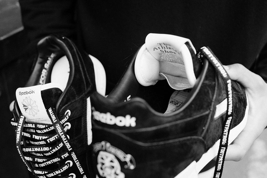 Reebok × Footpatrol Workout Lo Plus Blackbuck: животный окрас