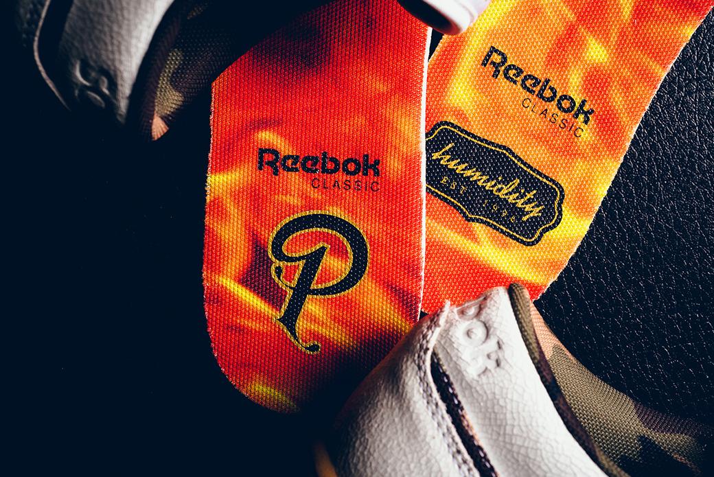 Reebok × Sneaker Politics × Humidity Workout Lo: заслуженный боец