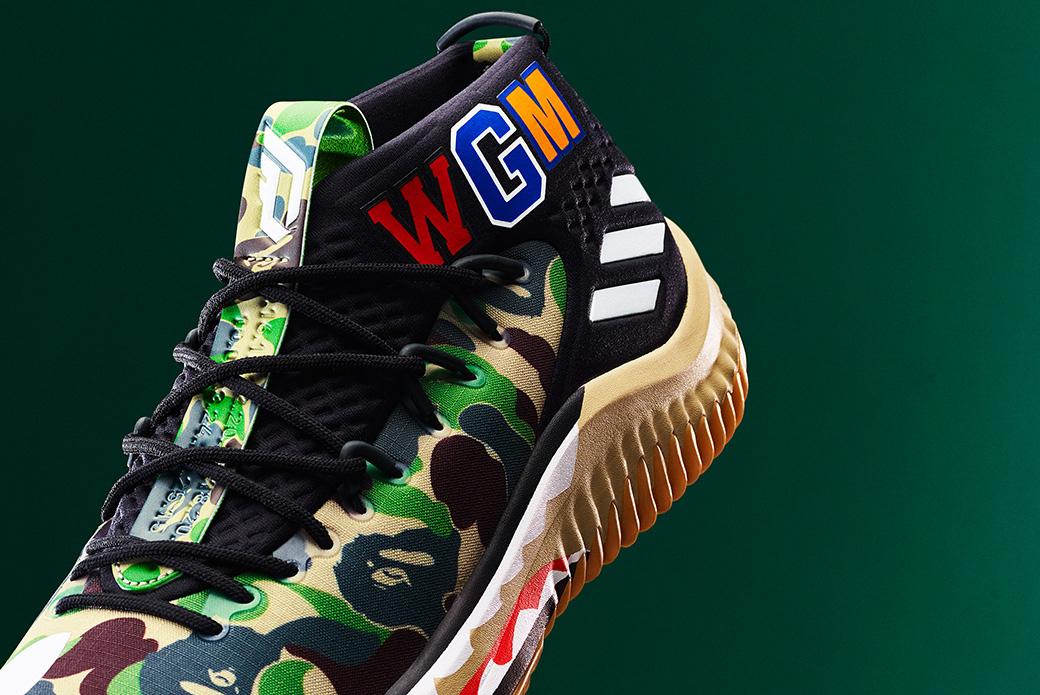 adidas Basketball × BAPE: стритвир на площадке