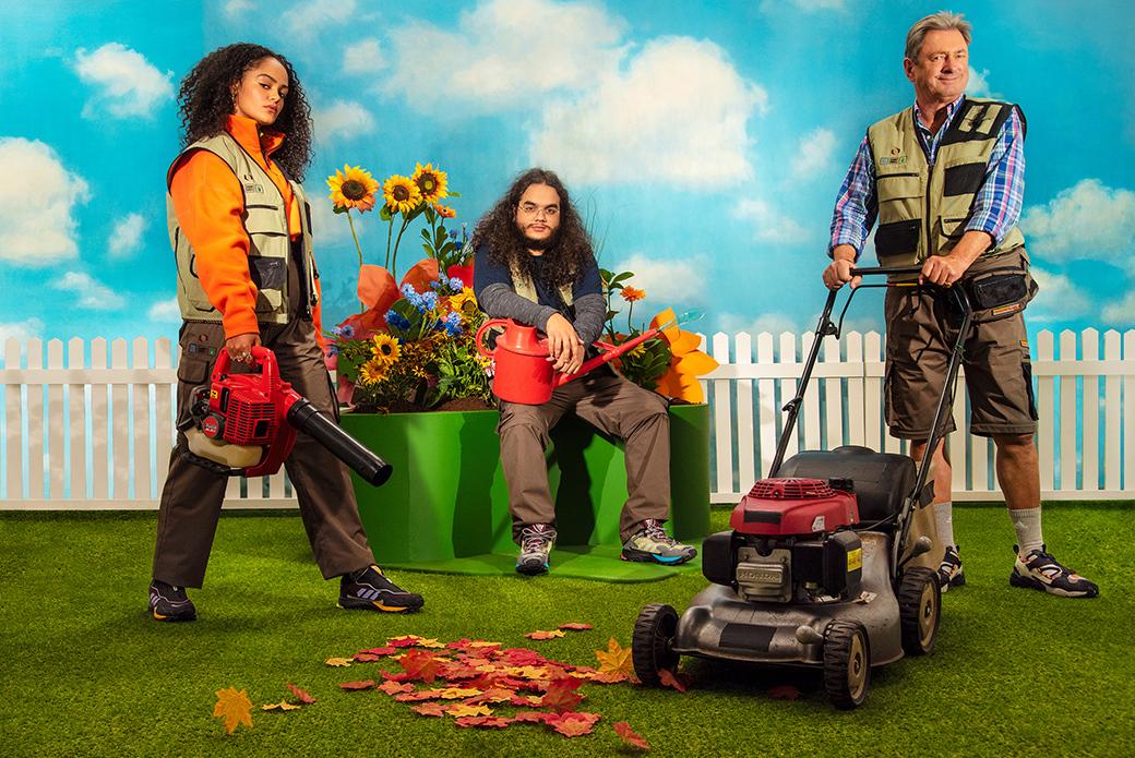 "adidas Consortium ""Gardening Club"": садовый авангард"