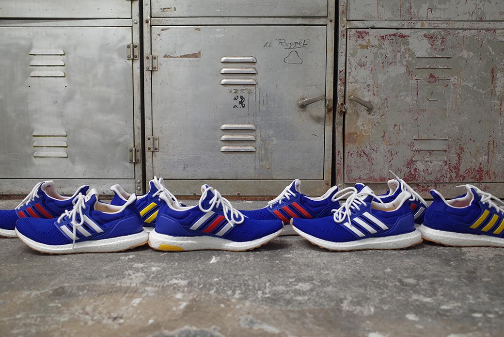 adidas Consortium × Engineered Garments: игривая асимметрия