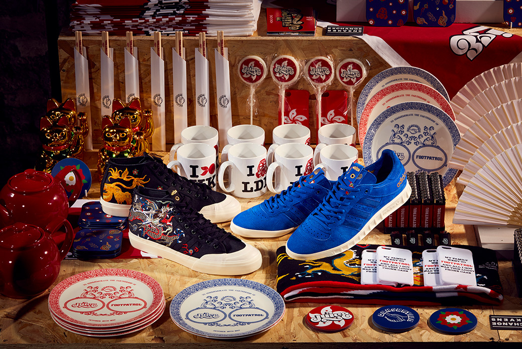 adidas Consortium × Juice × Footpatrol: сникер-тур
