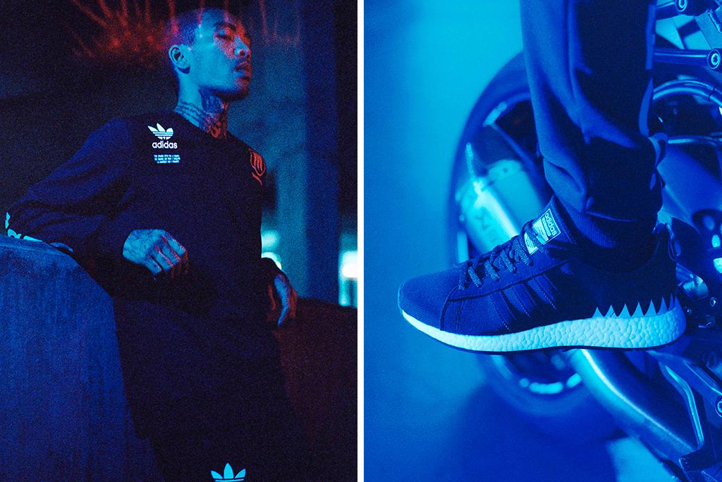 adidas Originals × NEIGHBORHOOD: японский монохром