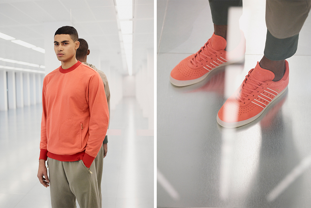 adidas Originals × Oyster Holdings: создано для путешествий