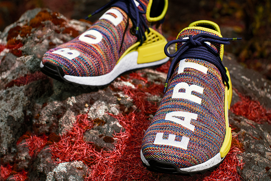 adidas Originals × Pharrell Williams: новые высоты