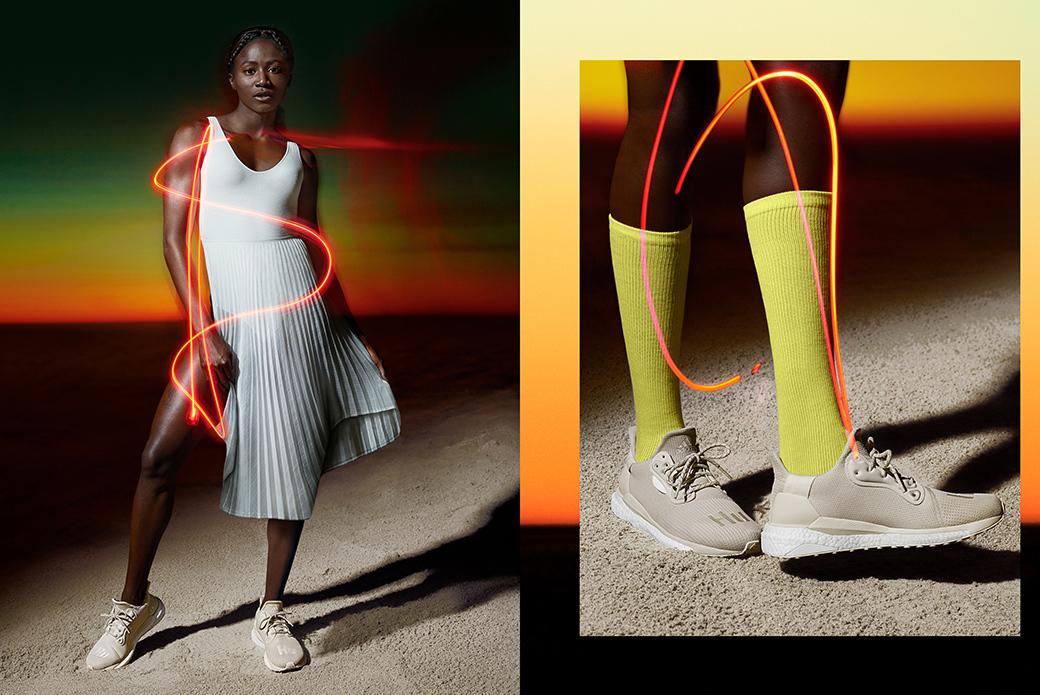 adidas Originals × Pharrell Williams: сила бега