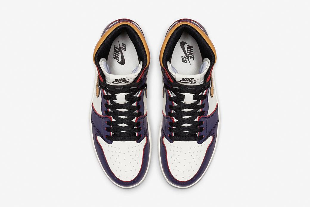 Air Jordan 1 × Nike SB LA to Chicago