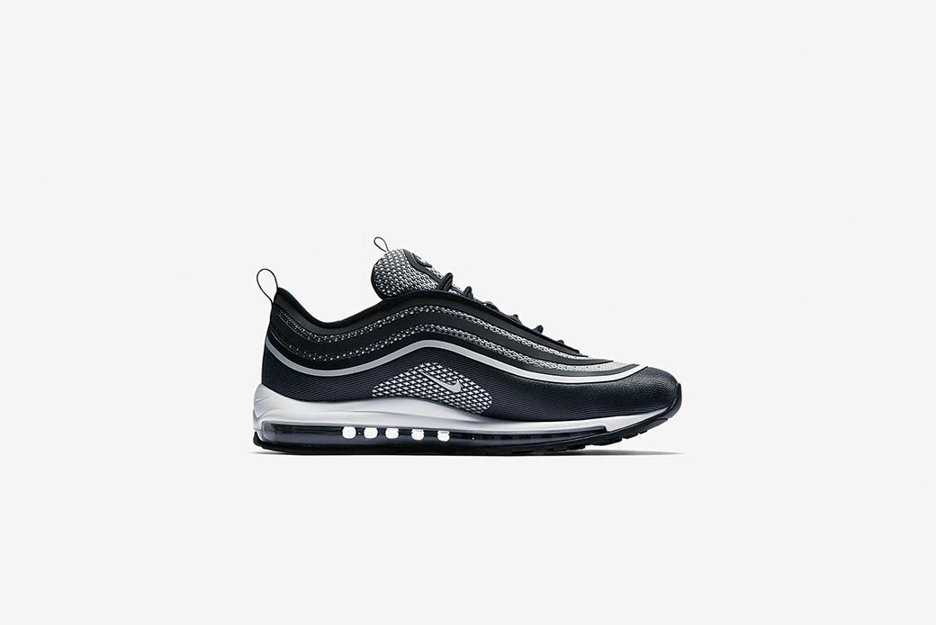 Nike Air Max 97: чёрный антрацит