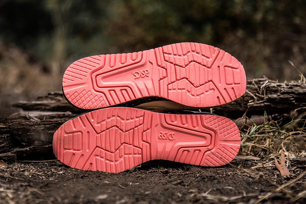 ASICS × Sneaker Freaker GEL-Lyte III: тигровая змея