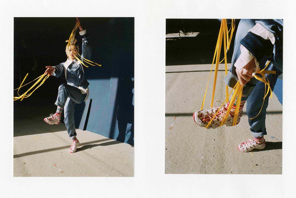 ASICS × Vivienne Westwood: панк-дебют