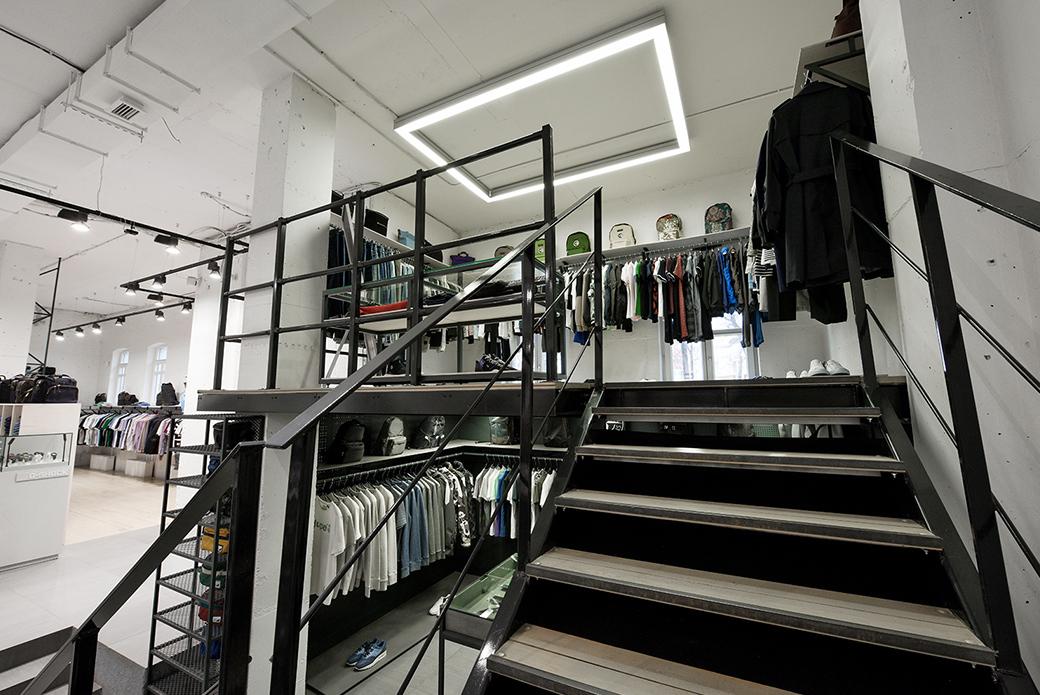 BRANDSHOP: реновация магазина