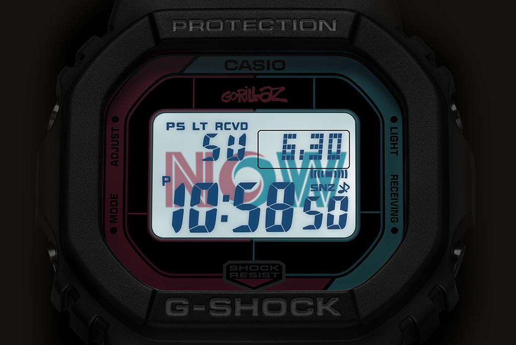 CASIO G-SHOCK × Gorillaz: два альбома, две модели
