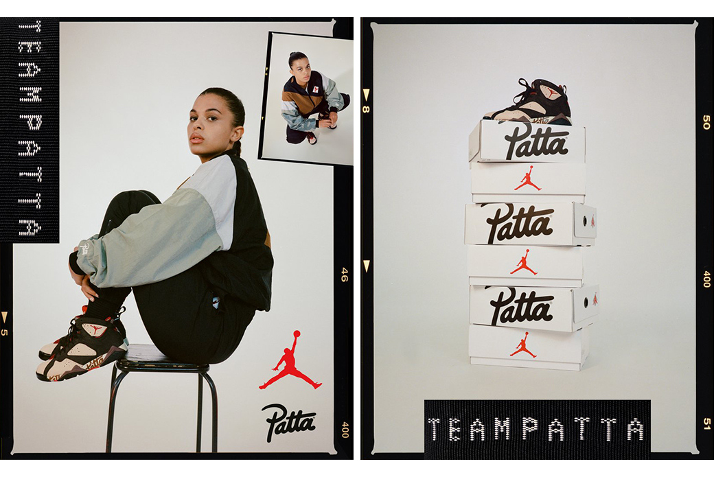 Jordan × Patta: первые в Европе