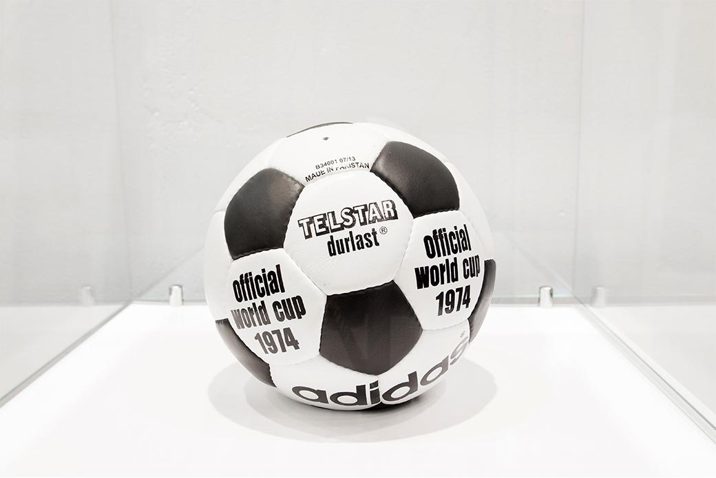 Мячи чемпионатов мира: выставка в BRANDSHOP