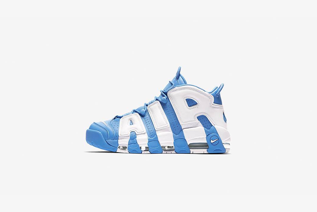 Nike Air More Uptempo '96: контрасты неба