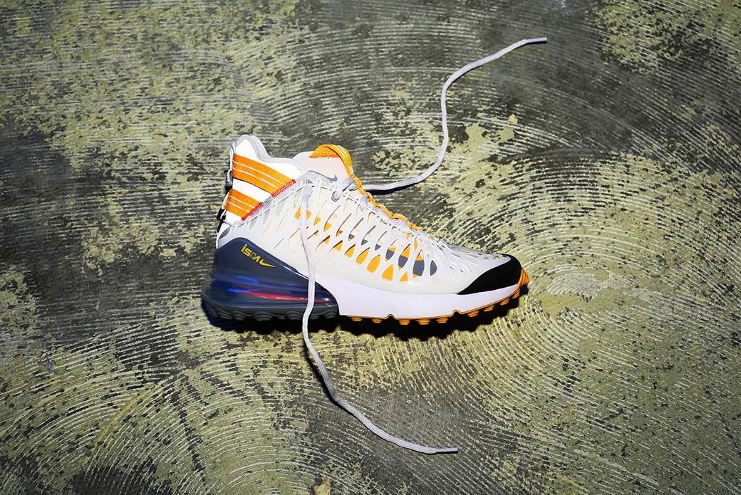 Nike ISPA Air Max 270: защитный дизайн