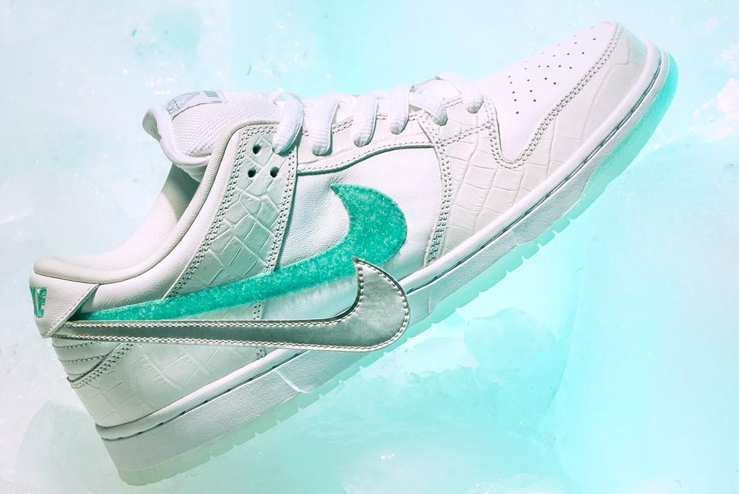 Nike SB × Diamond Supply Co. Dunk Low Pro: изменив игру