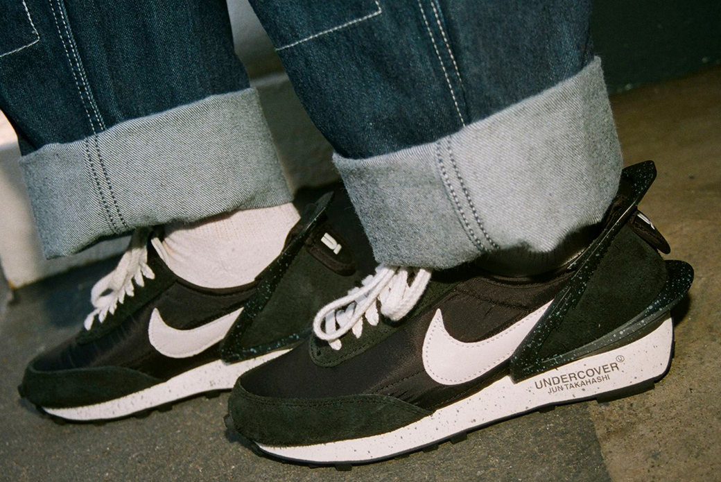 Nike × UNDERCOVER Daybreak: в чёрном цвете