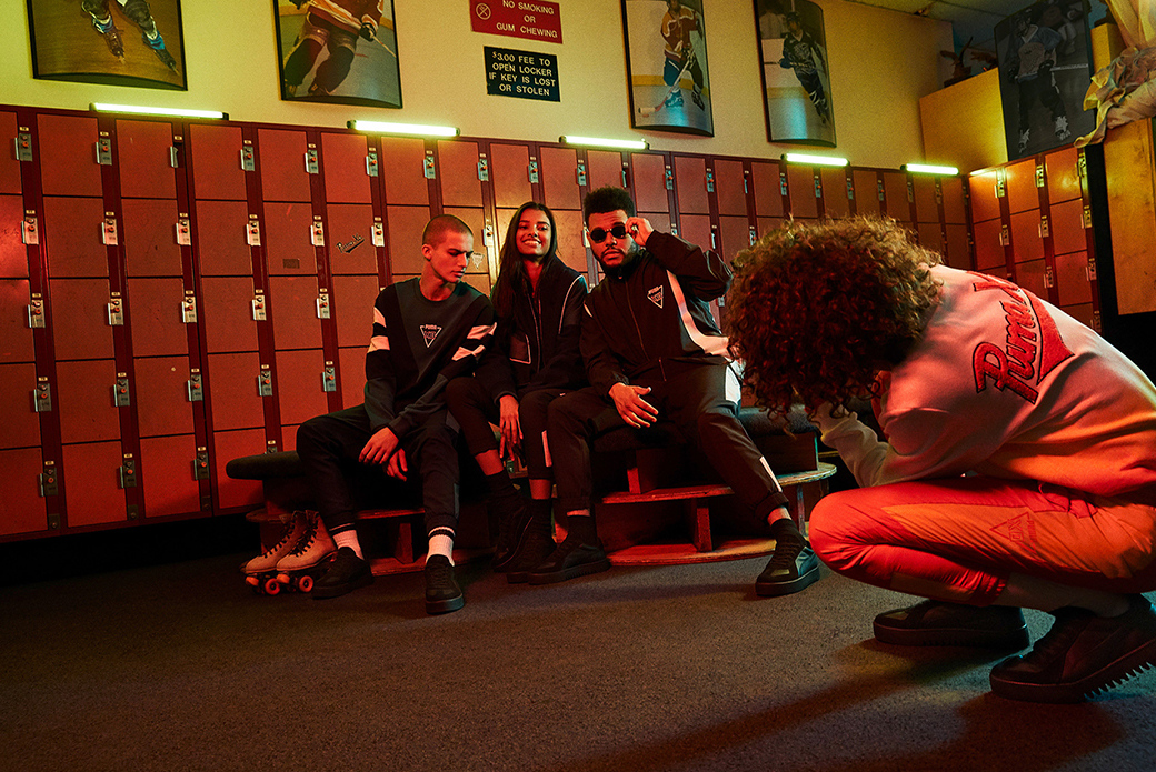 PUMA × The Weeknd XO: погружение в архивы