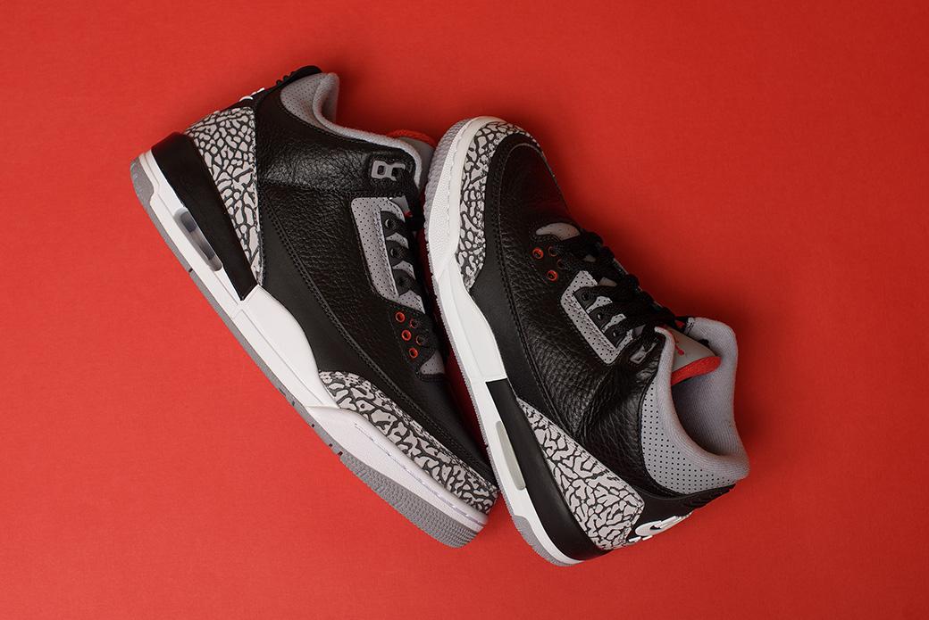 Air Jordan 3 Retro: за штрафной линией