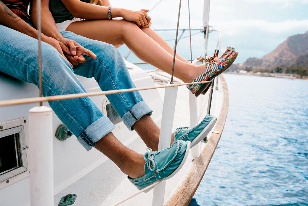 Sperry Top-Sider: на яхте в одних топ-сайдерах