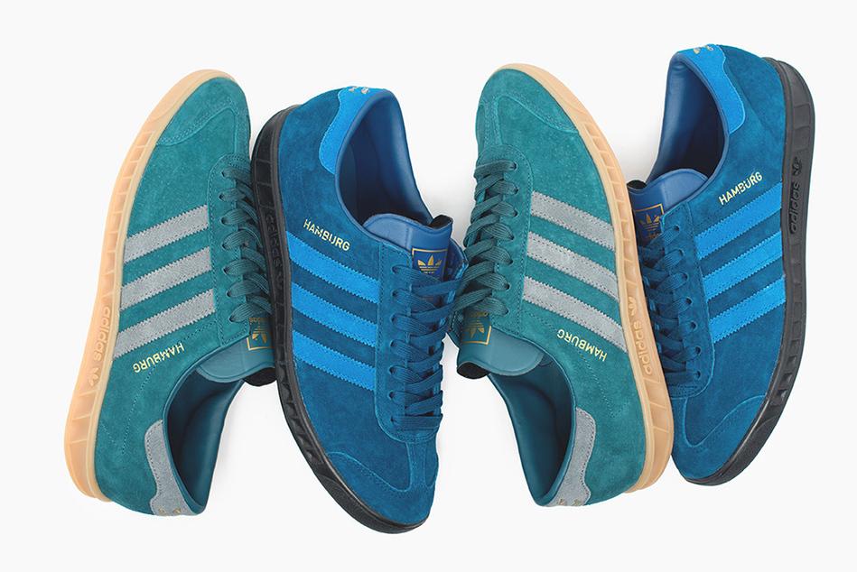 Возвращение легенды 80-х: adidas Originals Hamburg