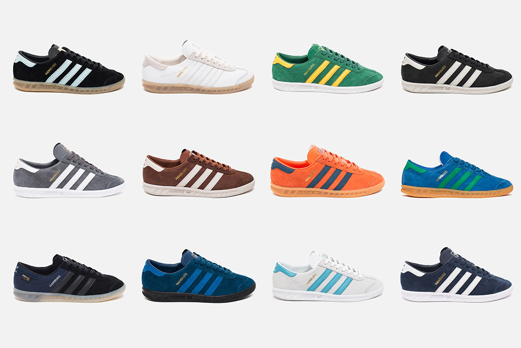 adidas Originals Hamburg: возвращение легенды