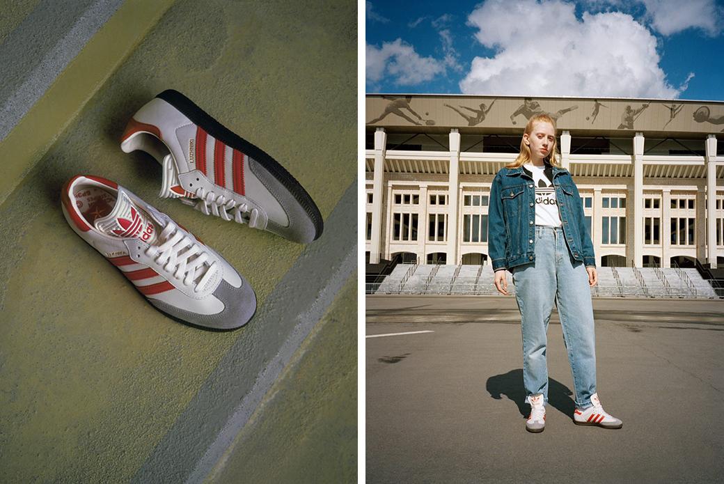 adidas Originals Samba ЛУЖНИКИ: главному стадиону страны